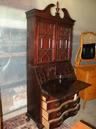 maddox gany drop front desk secretary bookcase