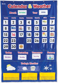 Calendar And Weather Pocket Chart Learning Resources Calendar Weather Pocket Chart