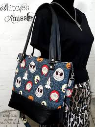 Tote Bag Sewing Pattern Awesome The Emily Tote Bag Sewing Pattern More Me Know