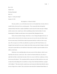 a rose for emily analysis essay a rose for emily critical essays enotes com