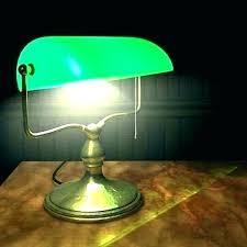 charming bankers desk lamp lamp bankers desk lamp green glass shade
