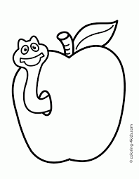 Small Picture Simple Coloring Pages Coloring Page