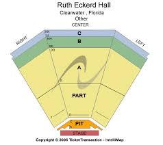 Ruth Eckerd Hall Seating Chart