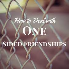 Quotes About One Sided Friendship Awesome How To Deal With One Sided Friendships Seriously SarahSeriously