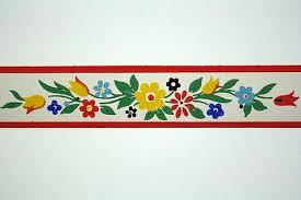 full vintage wallpaper border trimz