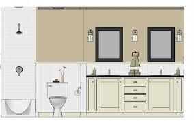 simple bathroom drawing.  Drawing Bathroom Design Drawings Amp Renderings Designer39s Edge  Kitchen Bath Best Creative For Simple Drawing M