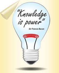 Knowledge Is Power Quote Awesome Motivation Slide With Bulb Knowledge Is Power Lord Bacon Quote
