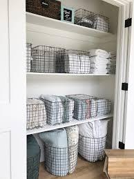 Squared Away: The Bathroom | Hall closet, Hall and Gray