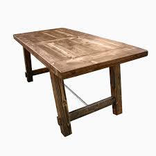 buy a custom country harvest dining table made to order from