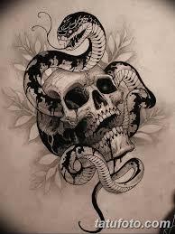 тату змея эскизы мужские 09032019 005 Tattoo Sketches