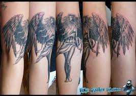Tetování Na Záda Andělská Křídla