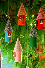 Christmas Tree Decoration Made Of Toilet Paper Rolls  Toilet Christmas Crafts Made With Toilet Paper Rolls