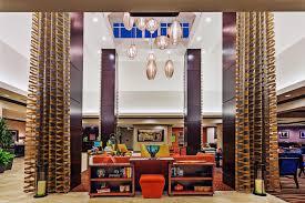 the lobby or reception area at hilton garden inn midland