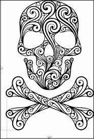 Skull And Cross Bones Stencil Tilsg Unique 52 Lovely Skull And Bones
