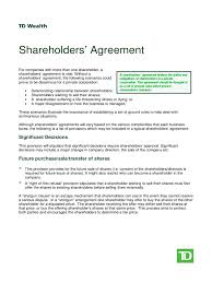 Shareholder Agreement Shareholder Agreement 24 Free Templates In PDF Word Excel Download 2