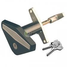 garage door lock handle. STARFLEET STAR0045 Anti-Vandal Garage Door Lock Handle