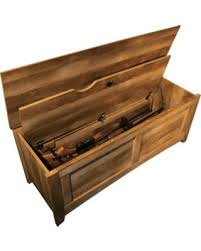 East Canyon Gun Storage Bench