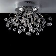 flush mount crystal chandelier. Picture Of 24\ Flush Mount Crystal Chandelier .