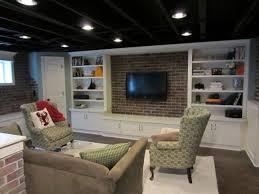 Exposed Basement Ceiling Ideas Basement Ceiling Ideas With - Exposed basement ceiling