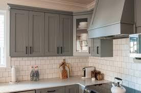 Kitchen Modern Grey Kitchen Cabinets White And Grey Kitchen
