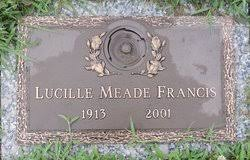 Lucille Meade Francis (1913-2001) - Find A Grave Memorial