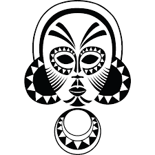 Small Picture 13 Images Of Tribal Mask Coloring Pages African Tribal Masks