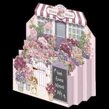 instant card making downloads flower shoppe diorama card 1 50 instant dioramas flower and