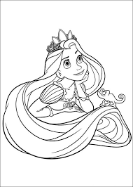 Small Picture tangled coloring pages Coloring pages Pinterest Tangled