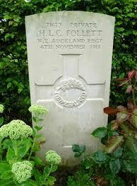 Private Hilary Leonard Charles Follett (1895-1918) - Find A Grave Memorial