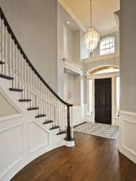 chandeliers 2 story foyer lighting fixtures this stunning foyer features light gray walls paired with
