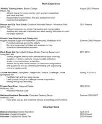 Where Do I Put Volunteer Work On My Resume Resume For Your Job