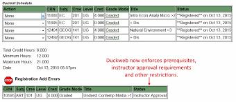 University Timetable Maker Student Schedule Builder Office Of The Registrar