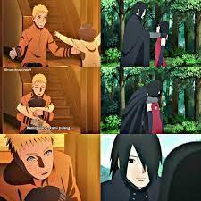 Naruto and Sasuke with their daughters Himawari & Sarada ❤️ That hug just  melts your heart. Wha… | Naruto uzumaki, Naruto shippuden anime, Naruto  uzumaki ship… trong 2021