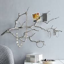 pretentious design tree branch wall decor home pictures hanging migrant resource network metal patina bronze diy