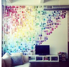28 Decorating Tricks To Brighten Up Your Rented Home. Paint Chip WallPaint  ...