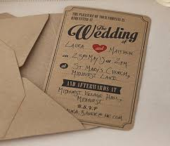 ginger ray wedding brown kraft wedding invitations x 10 vintage Buy Evening Wedding Invitations ginger ray wedding brown kraft wedding invitations x 10 vintage affair amazon co uk kitchen & home Luau Wedding Invitation Templates