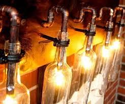 wine bottle lighting. unique lighting wine bottle light lamp with lighting