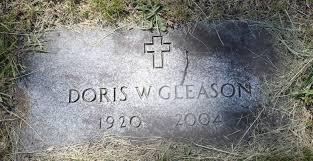 Doris Eloise Wilsey Gleason (1920-2004) - Find A Grave Memorial