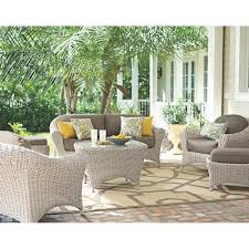 Martha Stewart Living Room Furniture Martha Stewart Living Lake Adela Bone 6 Piece Patio Seating Set