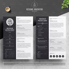 2 Page Cv Template 038 02 2 Pages Free Resume Design Template Ideas Creative