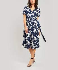Bird Jacques Wrap Dress | Liberty