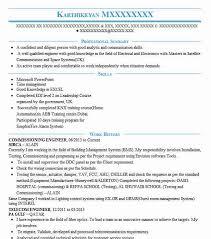 Dcs Engineer Sample Resume Gorgeous Commissioning Engineer Resume Sample Technical Resumes LiveCareer