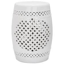chinese garden stool. Distinctive Safavieh White Ceramic Garden Stool Design Chinese