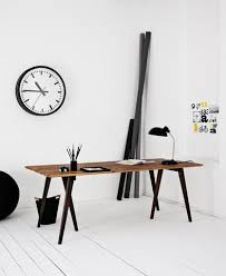minimalist home office design. Genbyg Design Trestle Leg Desk Minimalist Home Office D
