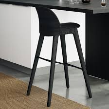 ikea industrial furniture. Black Wood Bar Stool Stools Counter Dark Outdoor Furniture Brisbane Tall Industrial White Leather Swivel Teak Ikea I
