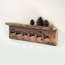Barn Wood Coat Rack Beauteous Barn Wood Coat Rack Shabby Chic Hooks Elegant Reclaimed Hi Res