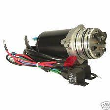 mercury power trim outboard engines components tilt power trim motor pump mercury 3 wire 3 ram 40 220 hp 1985