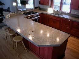 concrete countertops polished concrete countertop on zinc countertops