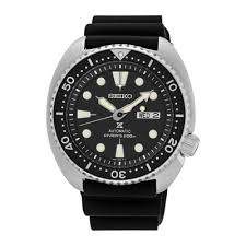 mens watches casual watches for men on jcpenney seiko® prospex mens black silicone automatic diver bracelet watch