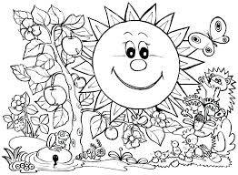 Sunday School Coloring Pages Creation Color Back To Supplies Middle